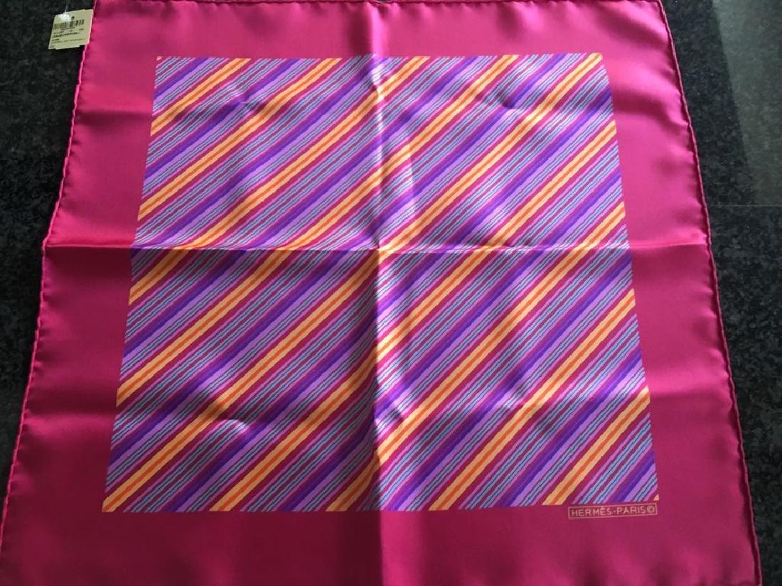 Hermès 16 1/2 x 16 1/2 scarf