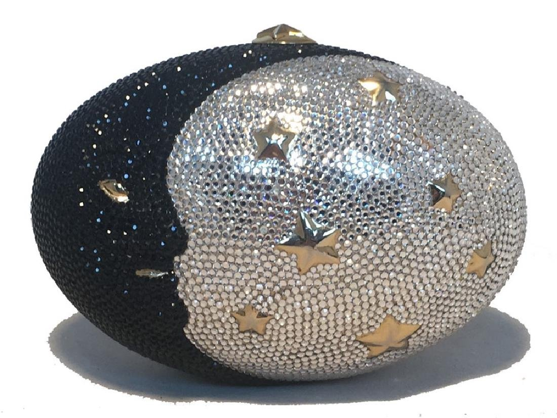 Judith Leiber Swarovski Crystal Moon and Stars