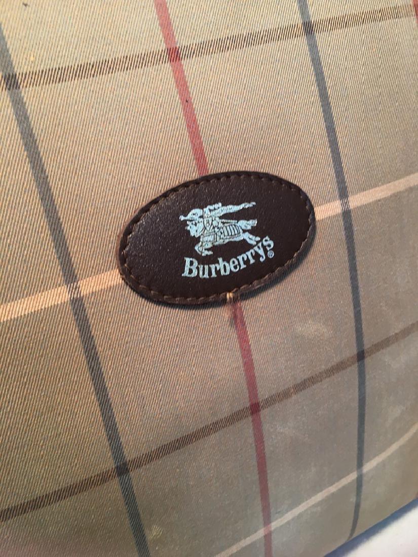 Burberry Vintage Brown Plaid Tote - 5