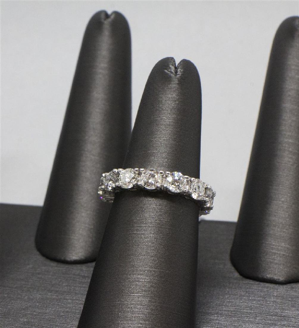 14k White gold 14 DIamond Ring - 2