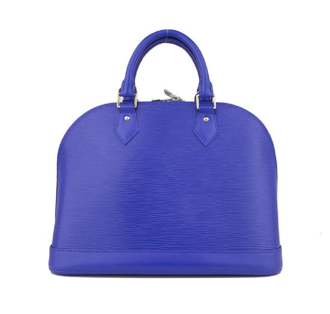 LOUIS VUITTON Figue Epi Leather Alma PM Bag
