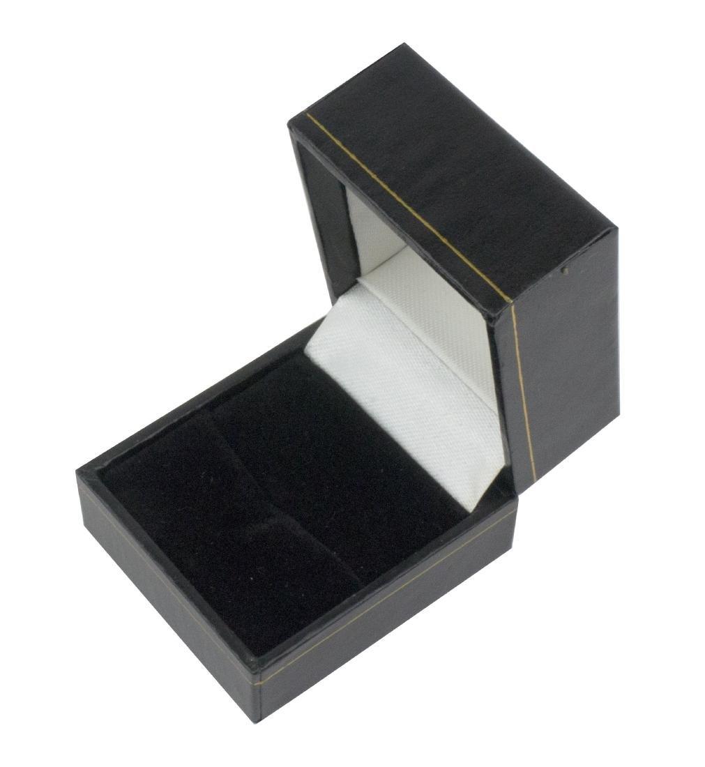 14K Yellow Gold Austrian Opal Diamond Ring - 8