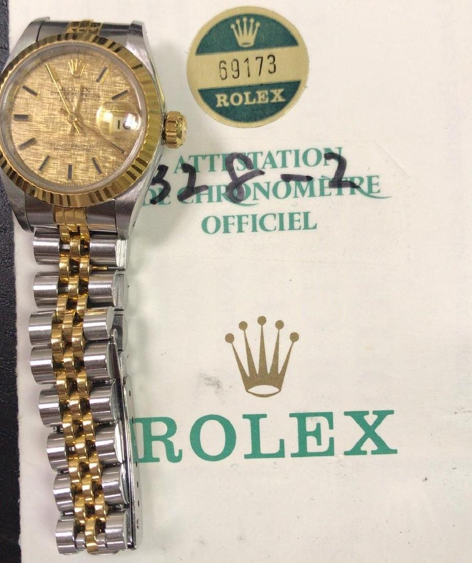 Pre-owned Rolex 26mm Rolex Two-tone Datejust Watch