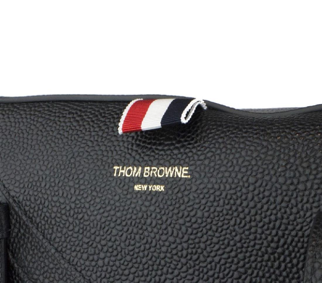 THOM BROWNE Pebble Grain Trigger Reef Fish Bag - 6