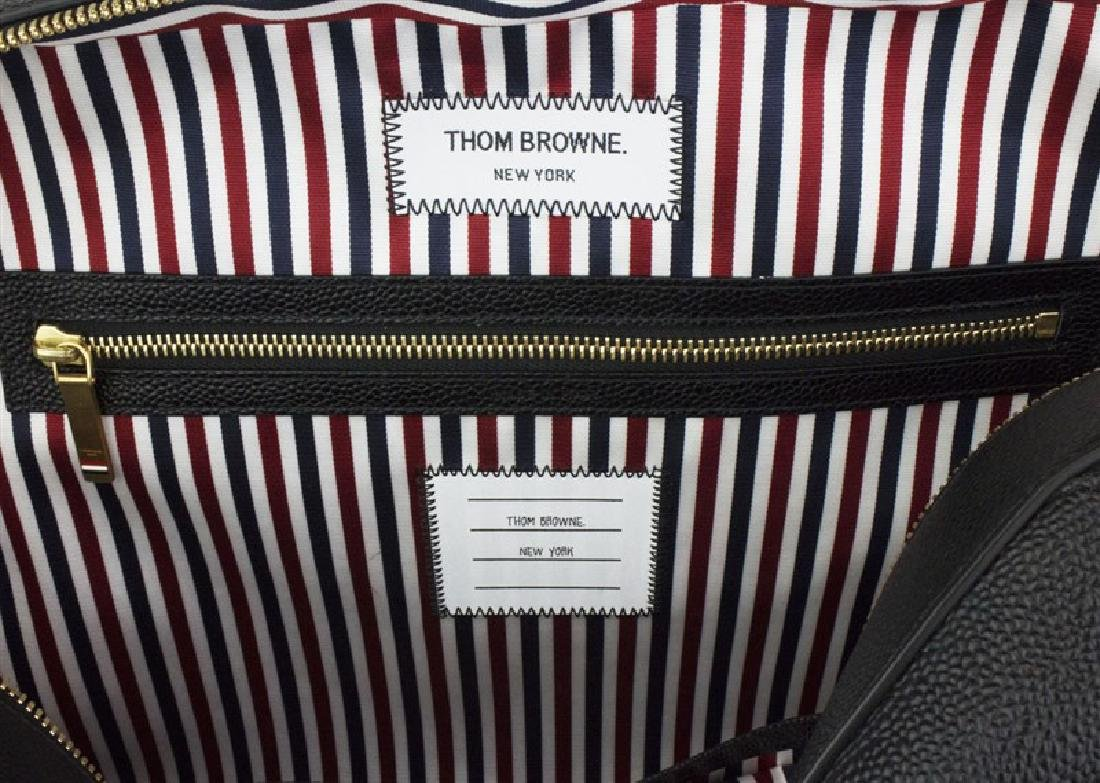 THOM BROWNE Pebble Grain Trigger Reef Fish Bag - 9