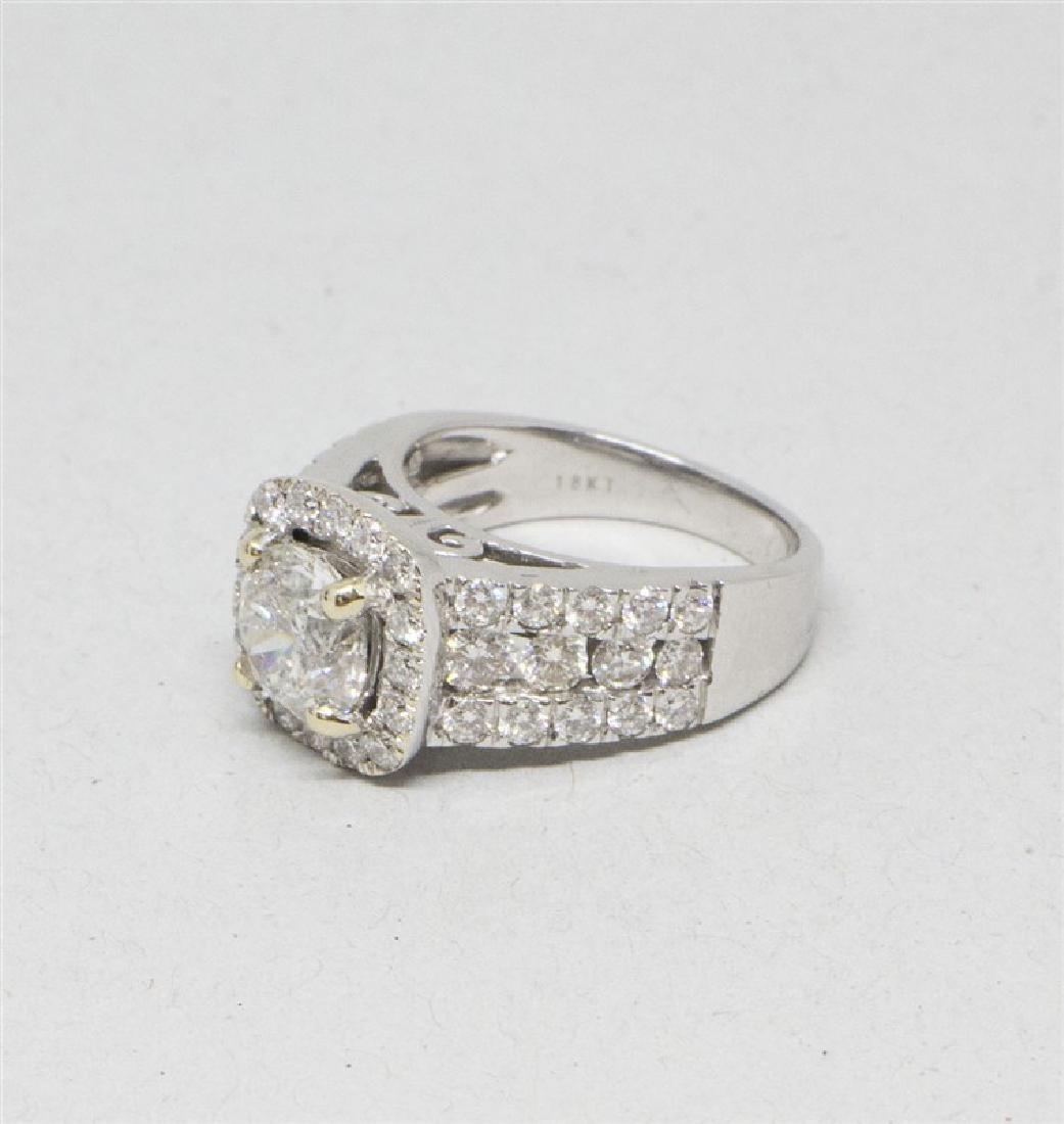 14k Yellow gold DIamond Ring - 4