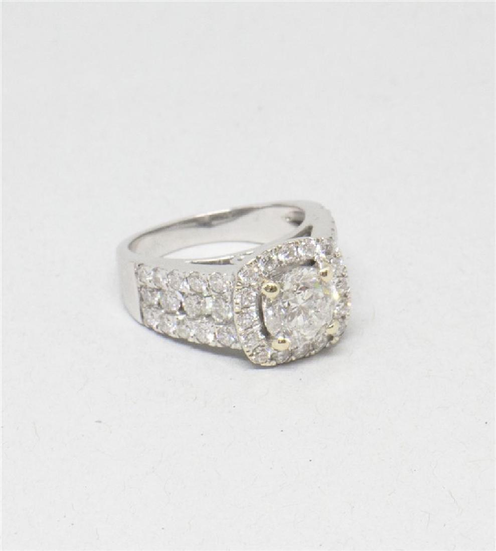 14k Yellow gold DIamond Ring - 5