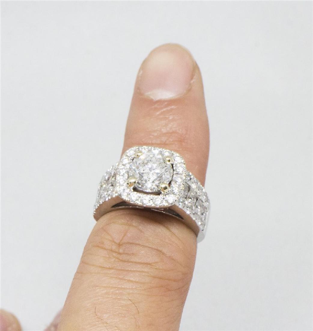 14k Yellow gold DIamond Ring - 6