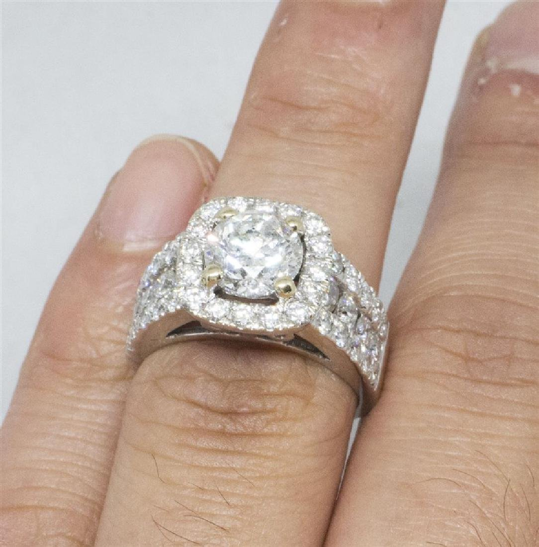 14k Yellow gold DIamond Ring - 7