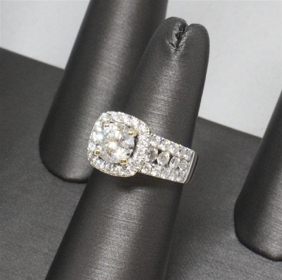 14k Yellow gold DIamond Ring - 8