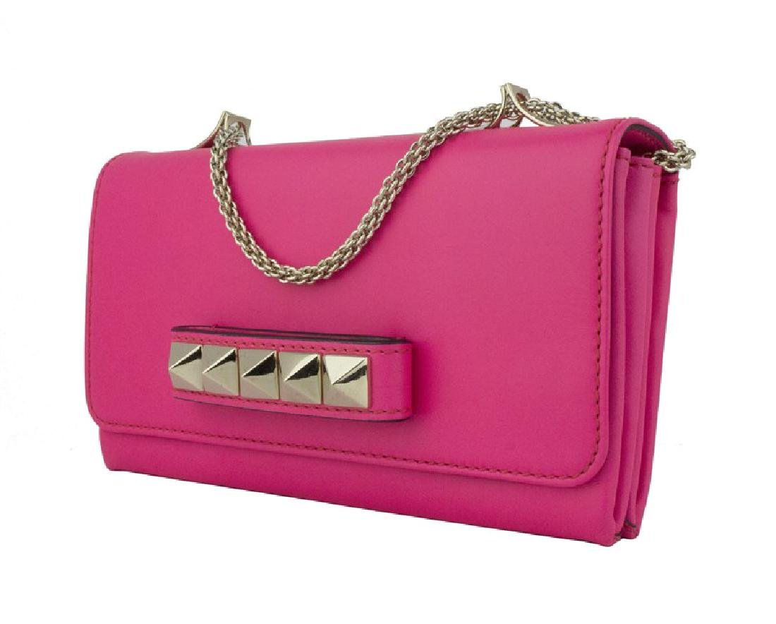 Valentino Garavani Leather Studded Versatile Clutch Bag - 2