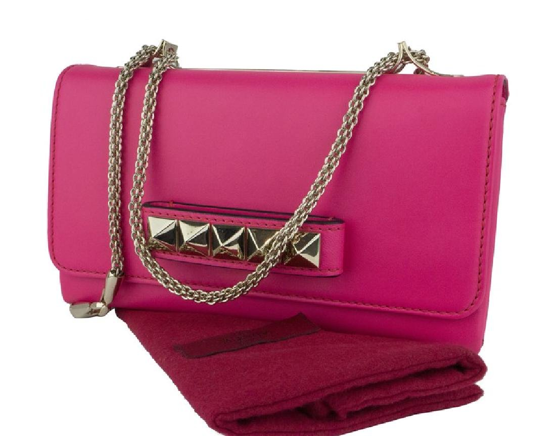 Valentino Garavani Leather Studded Versatile Clutch Bag - 7