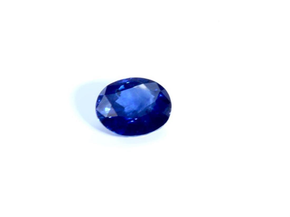 GIA Natural Sapphire 3.72 ct