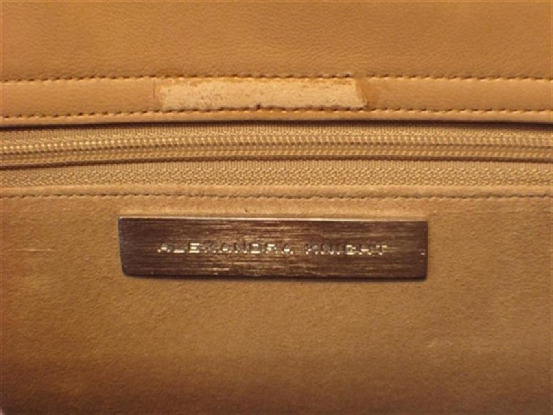 Alexandra Knight Tan Alligator Handbag - 6