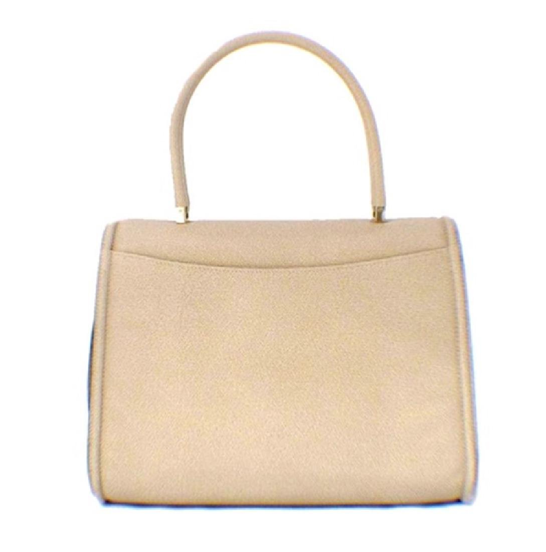 Valextra Beige Leather Handbag - 2