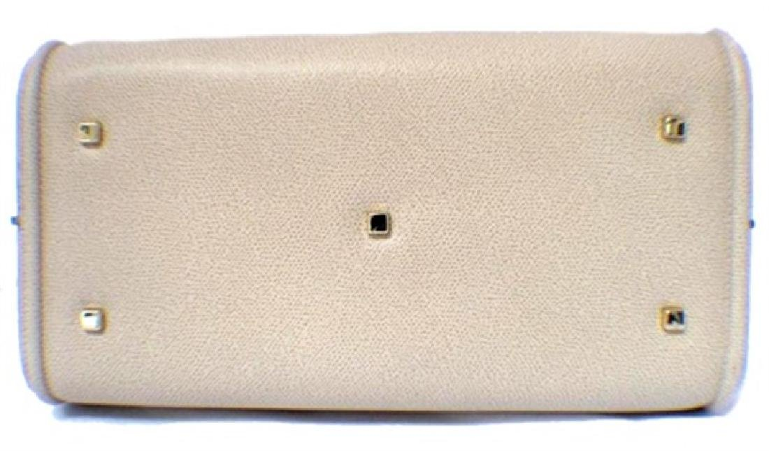 Valextra Beige Leather Handbag - 3
