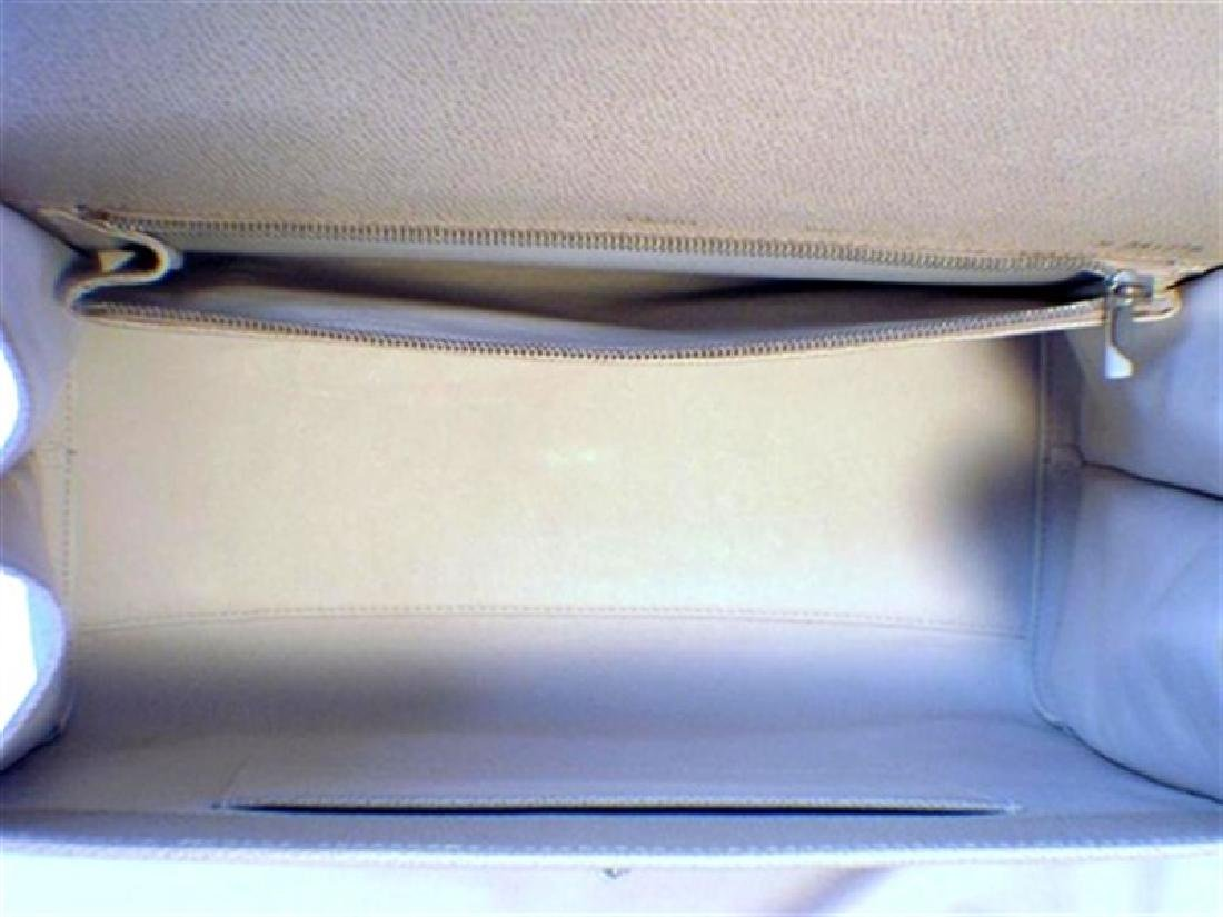 Valextra Beige Leather Handbag - 4