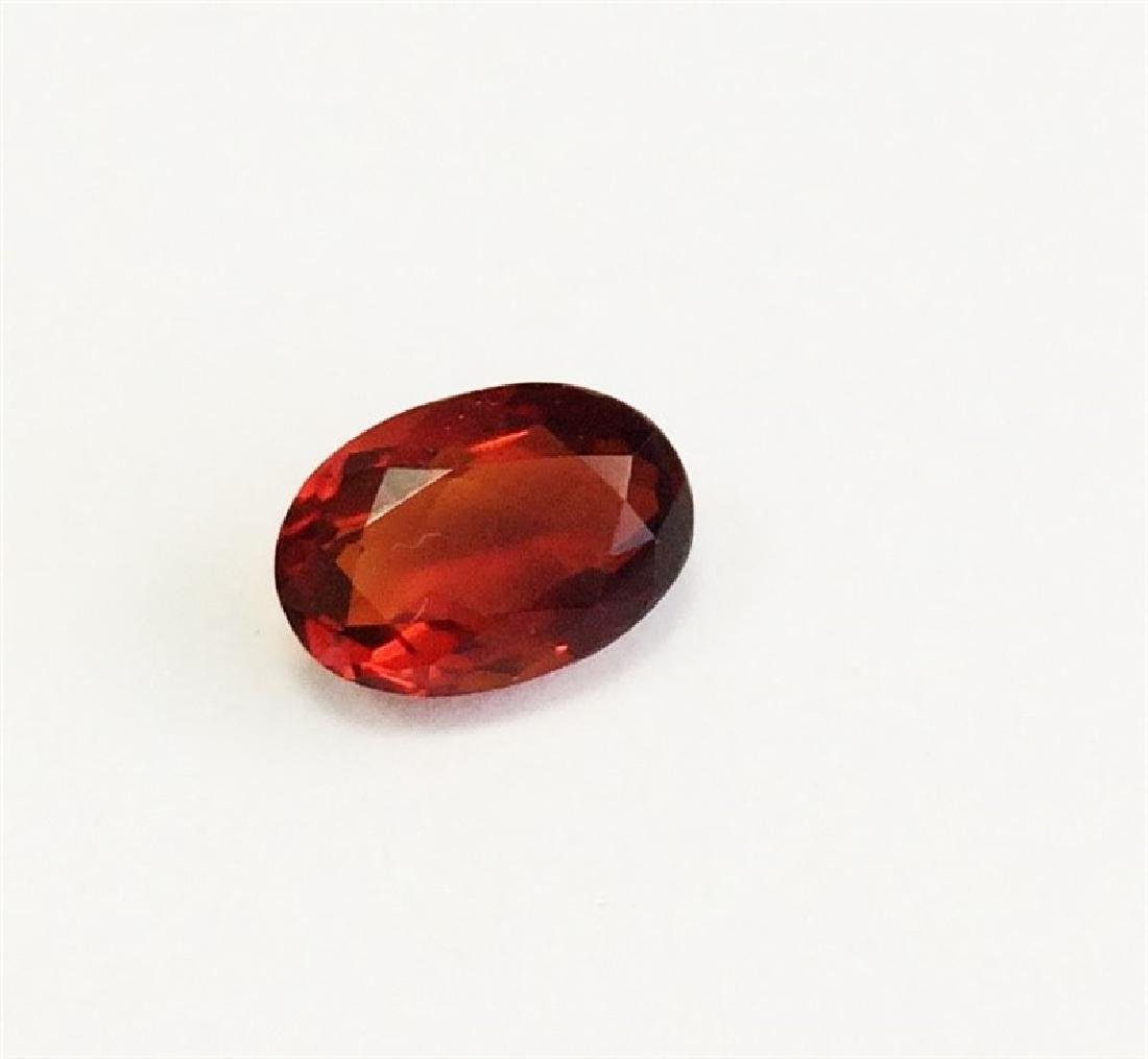 1.42ct Oval Shape Natural Malaya Garnet