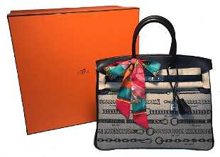 d6dd335967a NEW Limited Edition Hermes Toile de Camp Dechainee