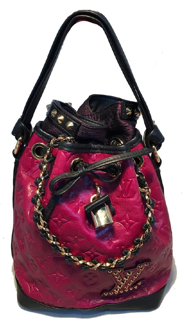 Louis Vuitton Ltd Ed Double Jeu Neo Noe cranberry - 2
