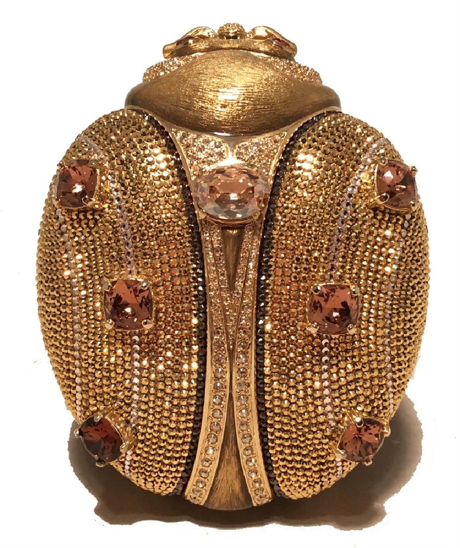 Judith Leiber 45th Anniversary Edition Crystal Gold