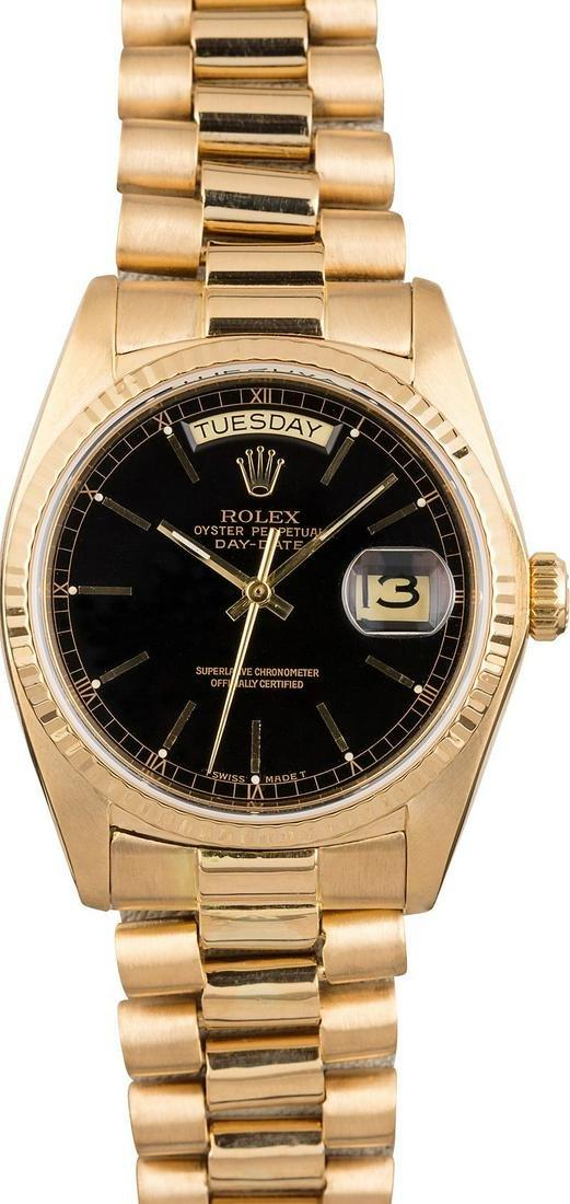 Rolex Model # 228238 Rolex Day Date YG 40MM