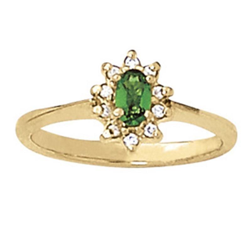 0.6ct Alexandrite 14K Yellow Gold Ring 2.11gm