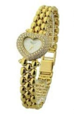 Chopard Classique YG Heart Watch on Bracelet with