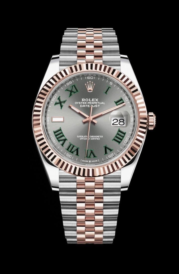 Rolex 41MM Datejust SS/RG  Model# 126331