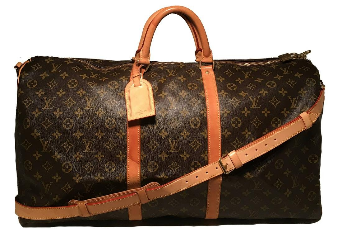 Louis Vuitton Keepall 60 with Strap