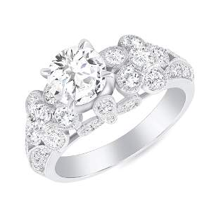 1.79ct Solitaire diamond ring