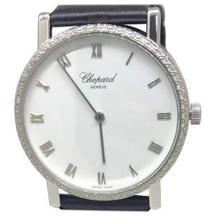 Chpard LUC on strap with Diamond Bezel Model