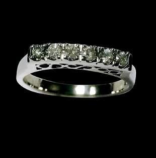 0.25ct Diamond 14K White Gold Ring