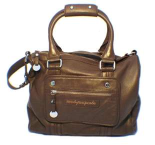 Marc Jacobs Brown Leather Utility Bag