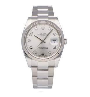 Rolex 34MM Date Model #115234