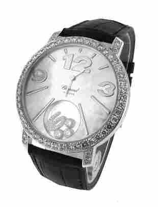 Chopard Happy Diamonds WG Diamond Bezel Model