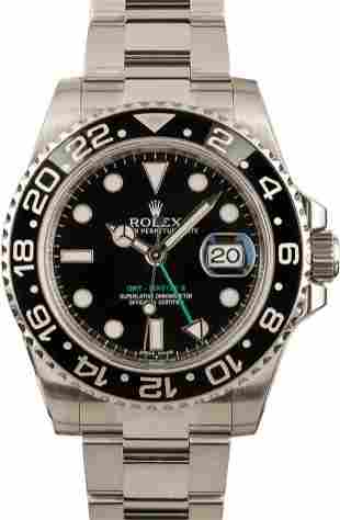 Pre-owned Rolex GMT-Master II - 116710