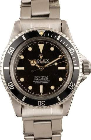 Pre-owned Rolex Submariner 5512