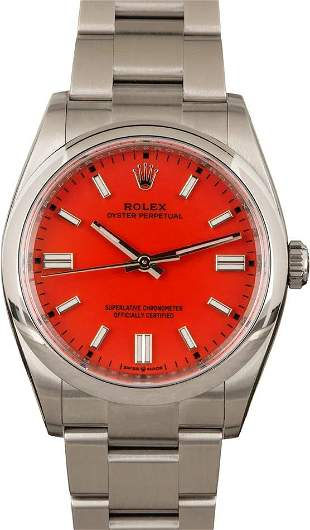 Pre-owned Rolex Oyster Perpetual 36 - 126000