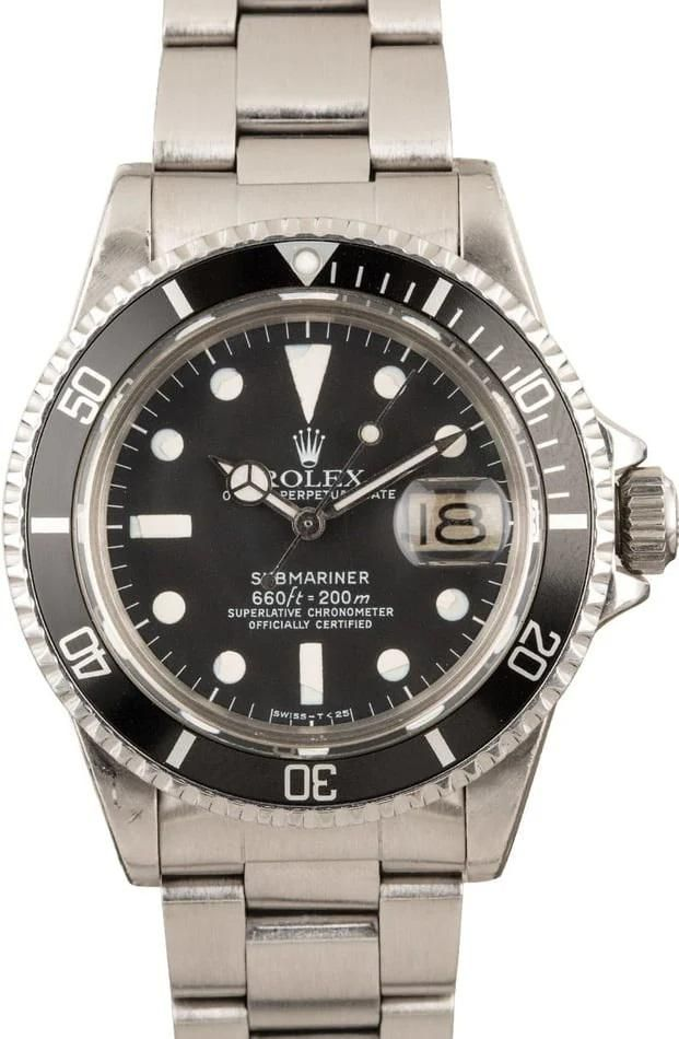 Pre-owned Rolex Submariner 1680