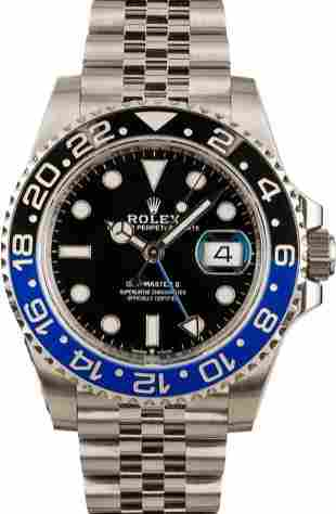Pre-owned Rolex GMT-Master II - 126710BLNR