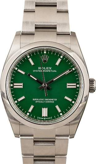 Pre-owned Rolex Oyster Perpetual 126000