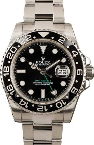 Pre-owned Rolex GMT-Master II - 116710LN