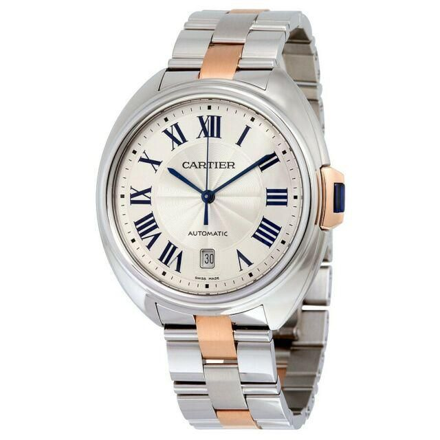 Cartier Cle SS/RG 40MM Model #W2CL0002