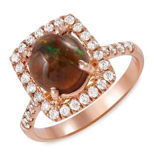 1.14ct Opal 14 K Rose Gold Ring