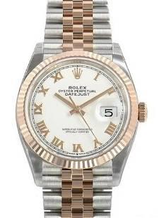 Rolex 36MM Datejust SS/RG Model #126231