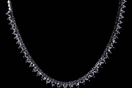 32.33ct Treated Enhanced Black Diamond 14K White Gold