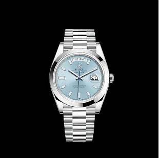 Rolex Day Date Platinum 40MM Model #228206