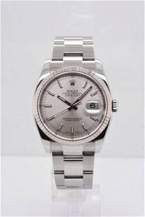 Pre-owned ROLEX DATEJUST Model #116234 S/S 36mm #A2834