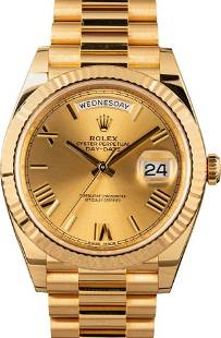 Pre-owned Rolex President Day-Date - 228238